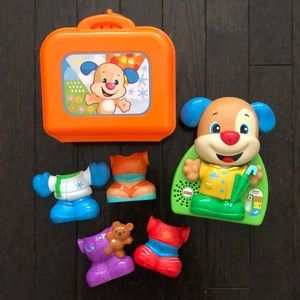 Fisher Price  Laugh And Learn Dress and Go Puppy